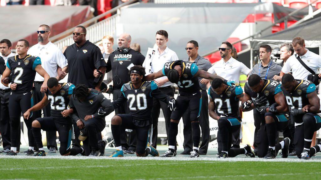 La NFL contesta a Donald Trump con unidad y respeto