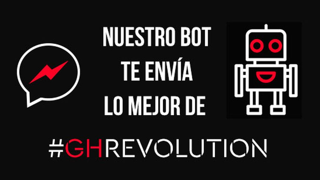 Suscríbete al bot de GH Revolution para recibir las noticias de la casa