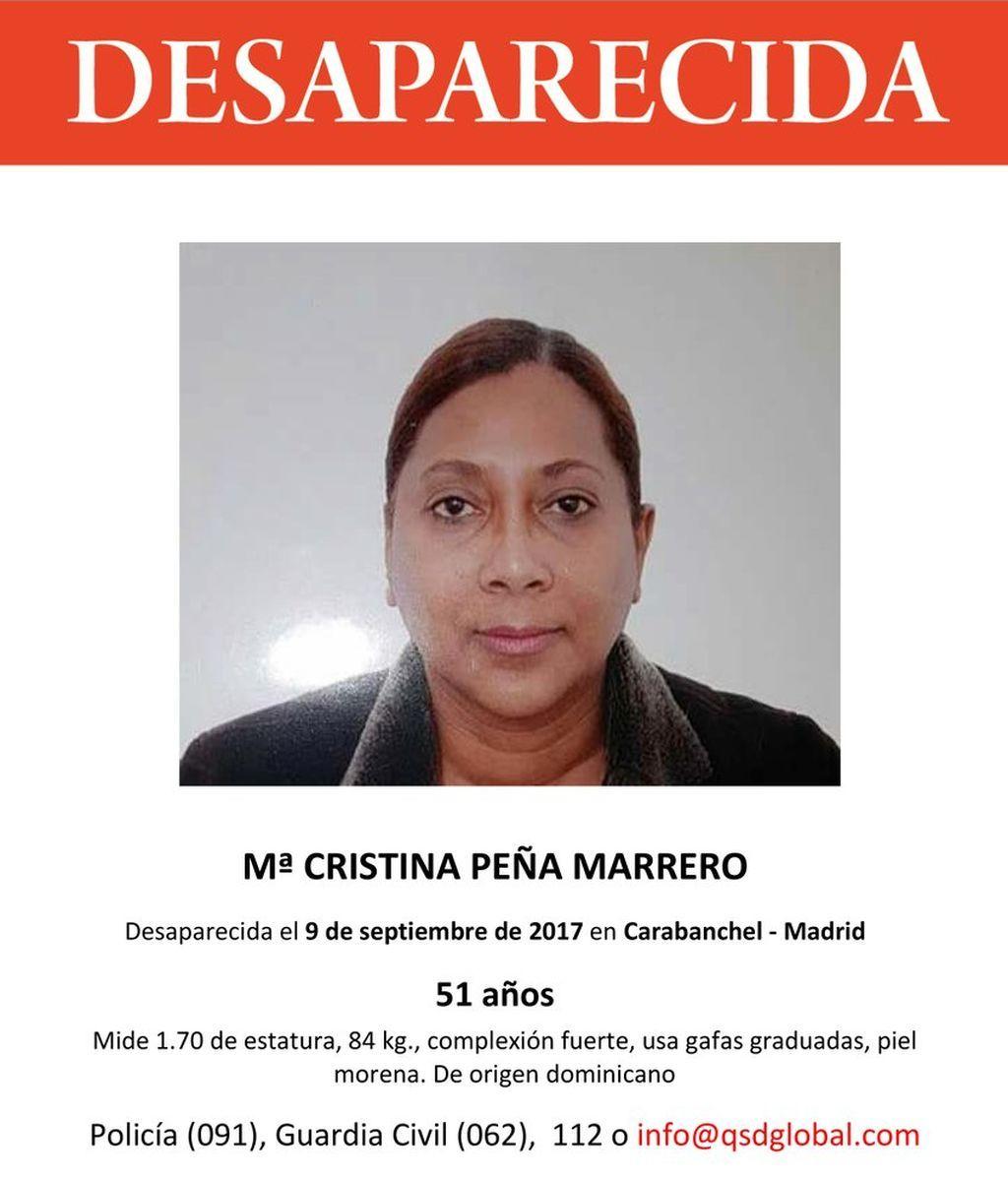 Desaparece un dominicana de 51 años en Carabanchel (España) tras denunciar la pérdida de su documentación