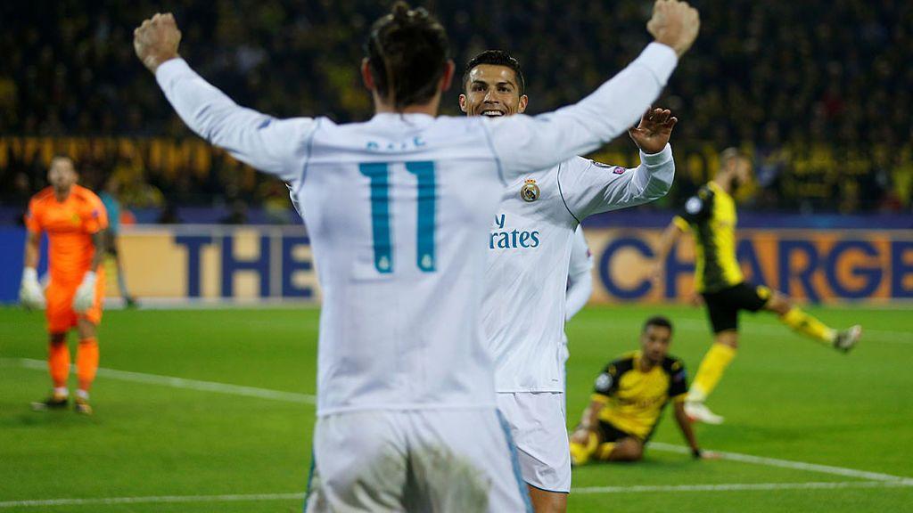 Cristiano se reencuentra con el gol y el Madrid vence en Dortmund por primera vez en su historia (1-3)