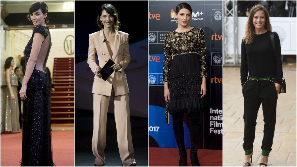 La noche y el día en San Sebastián: así celebran el cine Paz Vega, Bárbara Lennie, Elena Anaya y Darín