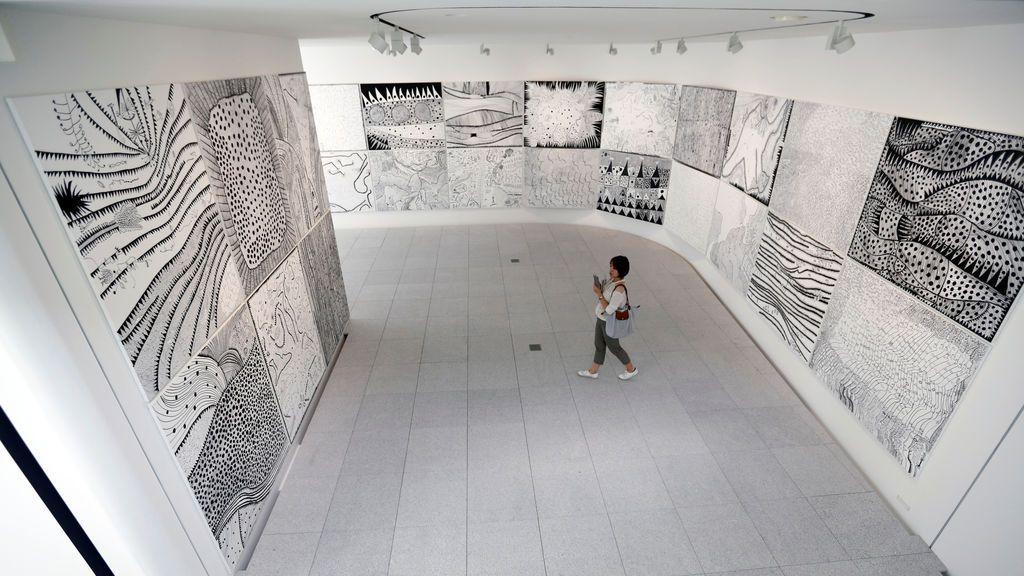 Exposición del artista japonés Yayoi Kusama