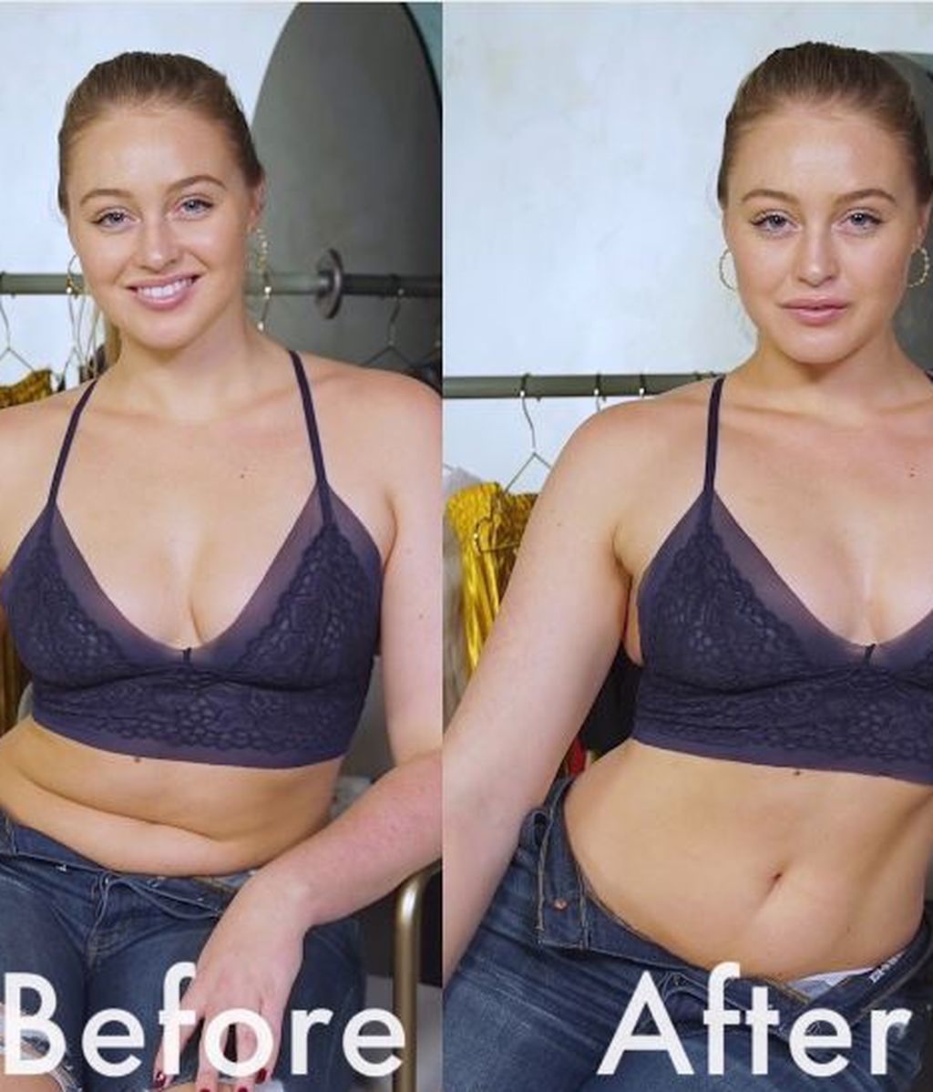 Una modelo de talla grande revela los trucos para lucir más esbelta en las fotografías