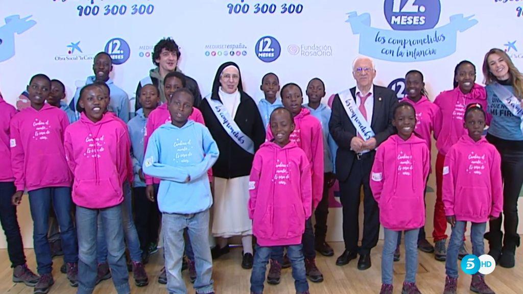 Los comprometidos con la infancia recaudó en la primera fase 250.000€