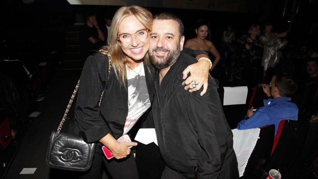 Mariola Orellana y Félix Sabroso