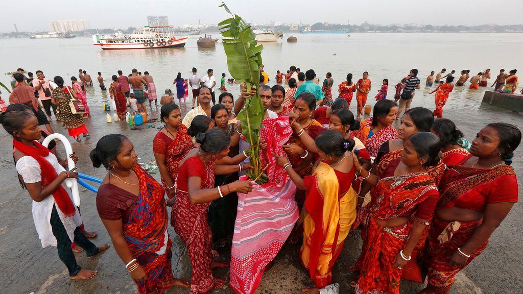 Fiesta de Durga Puja en India