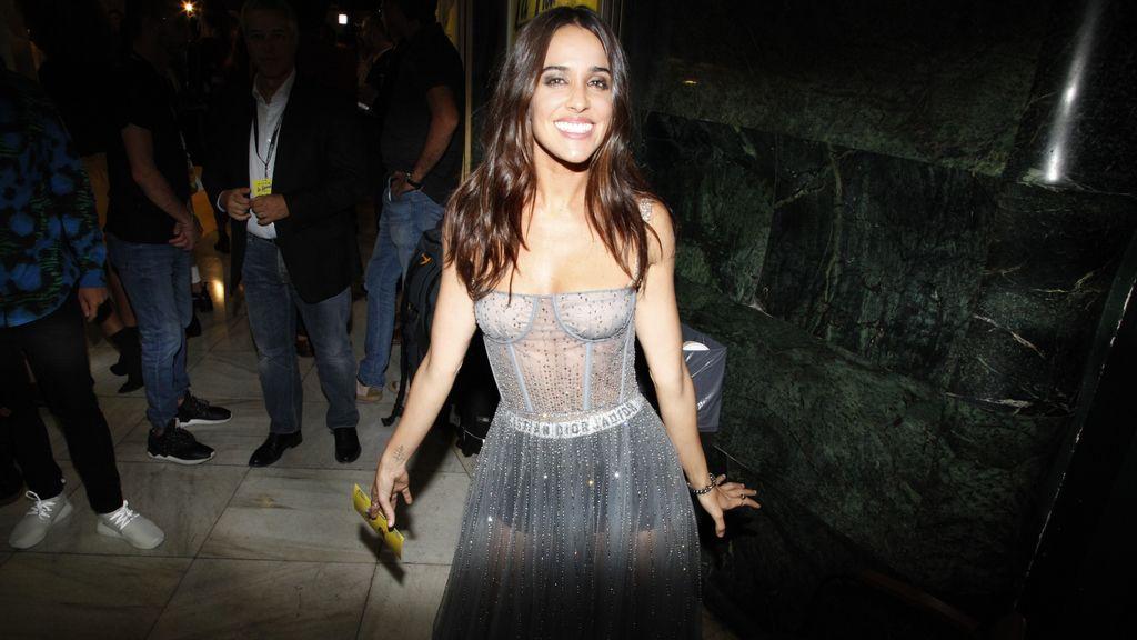 Macarena García enfundada en un maravilloso Dior