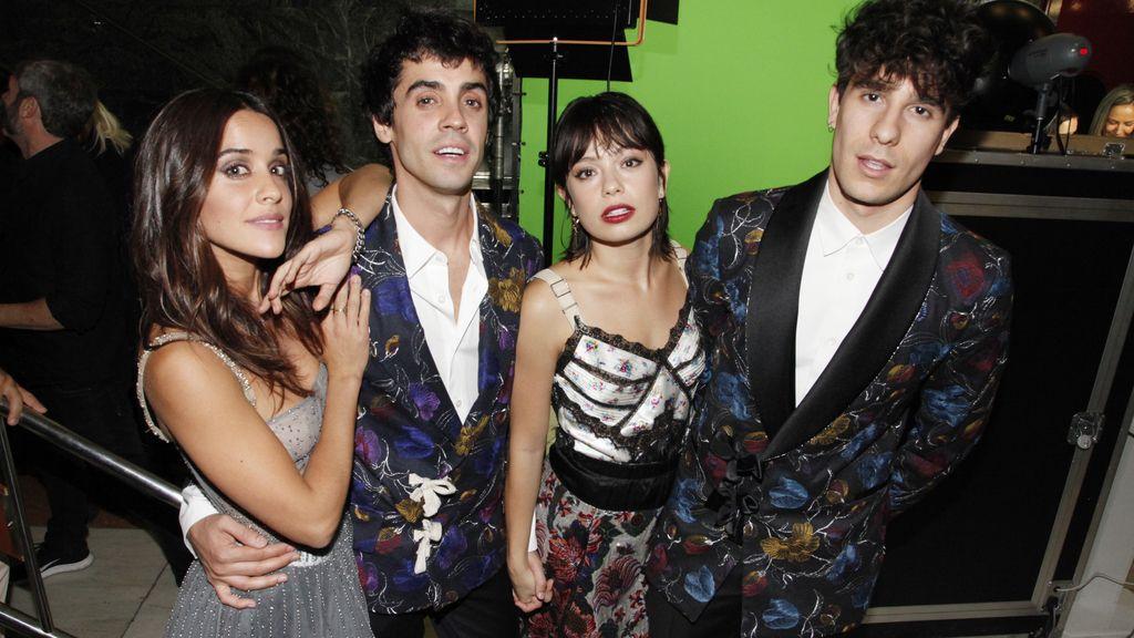 Macarena García, Javier Ambrossi, Anna Castillo y Javier Calvo