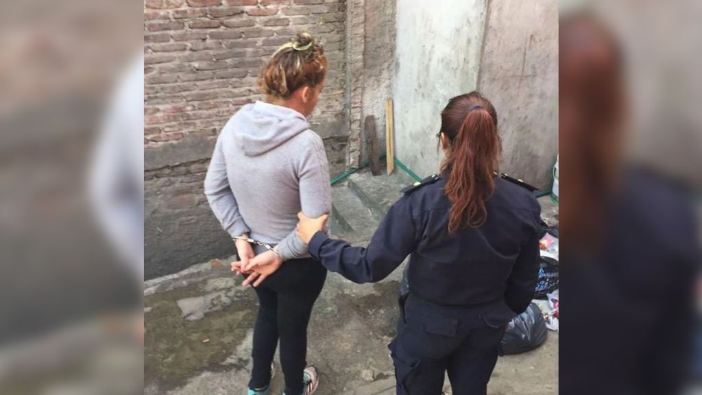 madre detenida