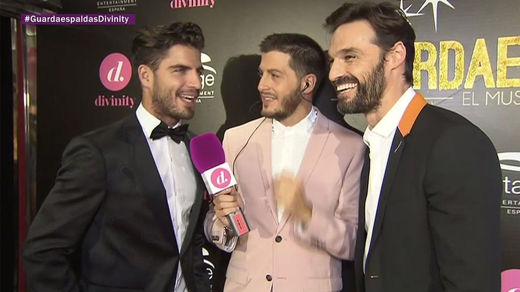 """Maxi Iglesias e Iván Sánchez: """"Con el musical 'El Guardaespaldas' el público sale flipando"""""""