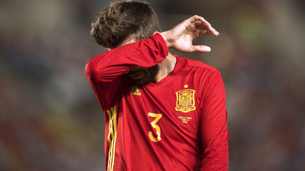 Twitter pide que Piqué no vuelva a la Selección por su apoyo al referéndum (aunque realmente no ha dicho qué va a votar)