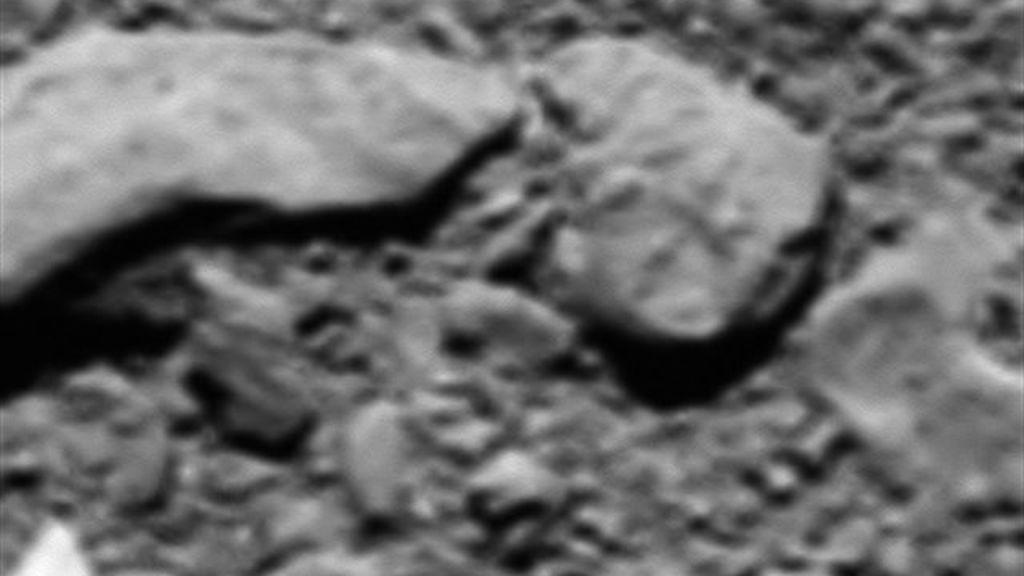 La desconocida imagen final que llegó de la nave Rosseta