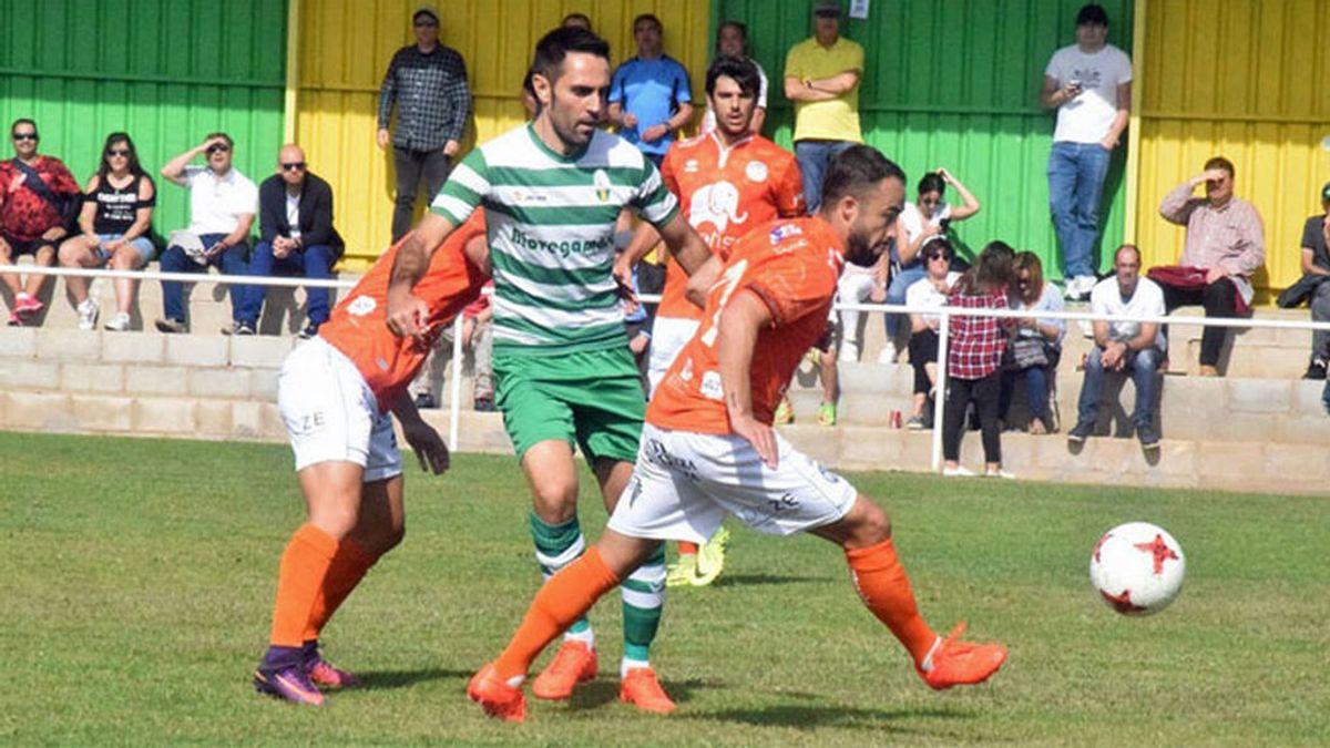 El gol más religioso de España se vivió este domingo en un partido de Tercera división