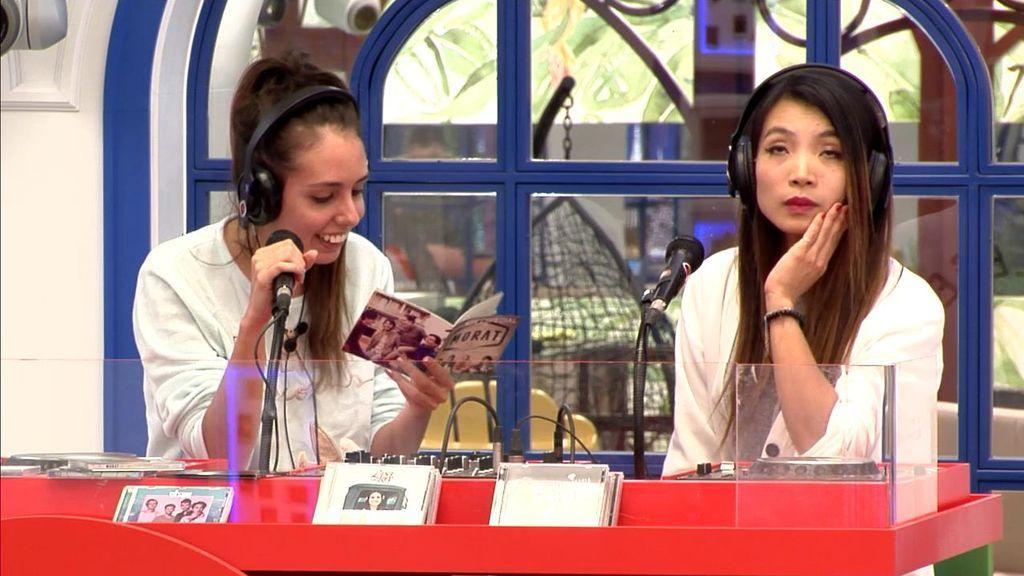 Nerea se empeña en cantar una canción en la radio y  Yangyamg alucina (y no para bien)