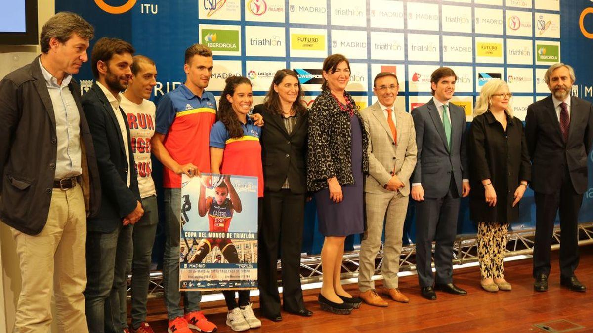 'Se buscan valientes' se suma a la celebración de la Copa del Mundo de Triatlón