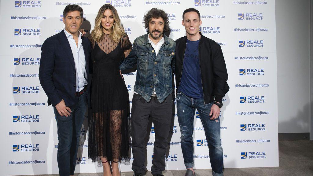 El chef Diego Guerrero, la artista Edurne, el piloto Pol Espargaró y el diseñador Jorge Vázquez se unen para aportar soluciones de confianza