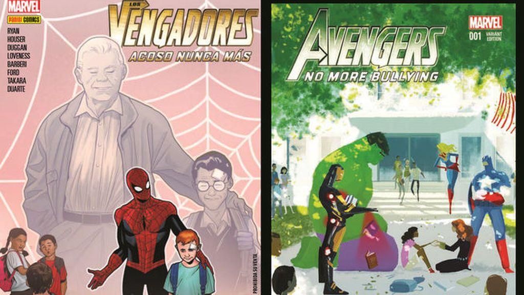 Marvel y Panini lanzan un comicbook de Spiderman sobre acoso escolar
