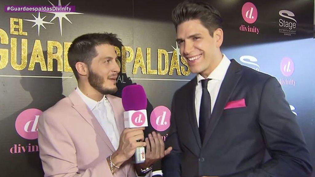 """Diego Matamoros: """"Como en 'El Guardaespaldas', dos fans saltaron la valla de mi casa"""""""