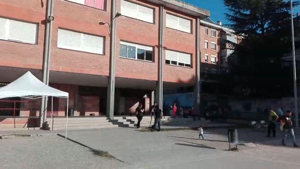 La escuela Serra i Hunter de Manresa se prepara para el encierro independentista