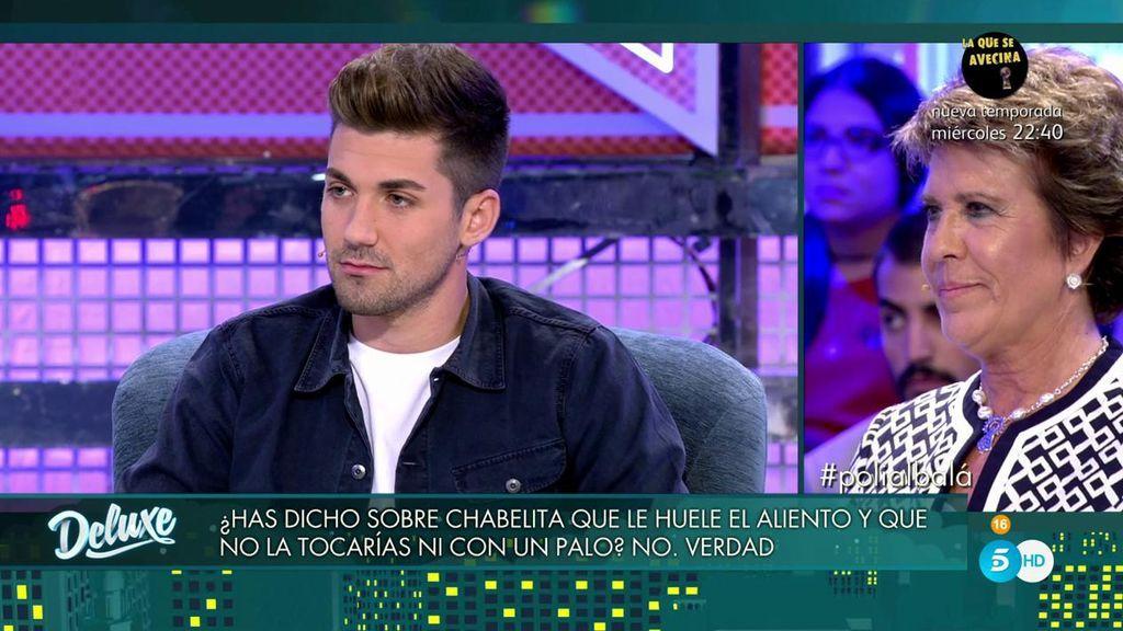 ¿Es cierto que Alejandro Albalá dijo de Chabelita que le huele el aliento y que no la tocaría ni con un palo?