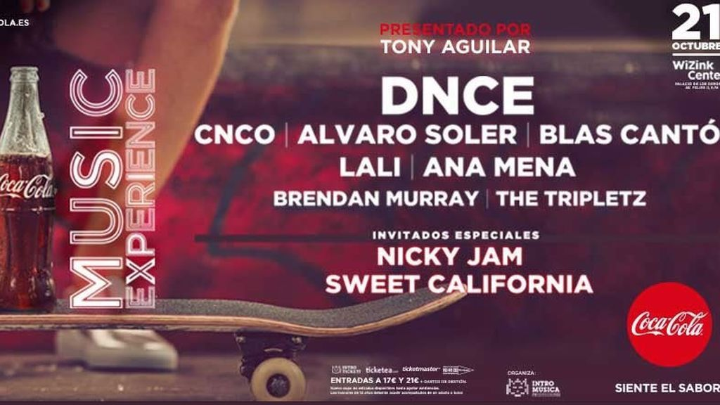 ¡¡NOTICIÓN!! Nicky Jam y Sweet California se apuntan al #CCME 😱👏