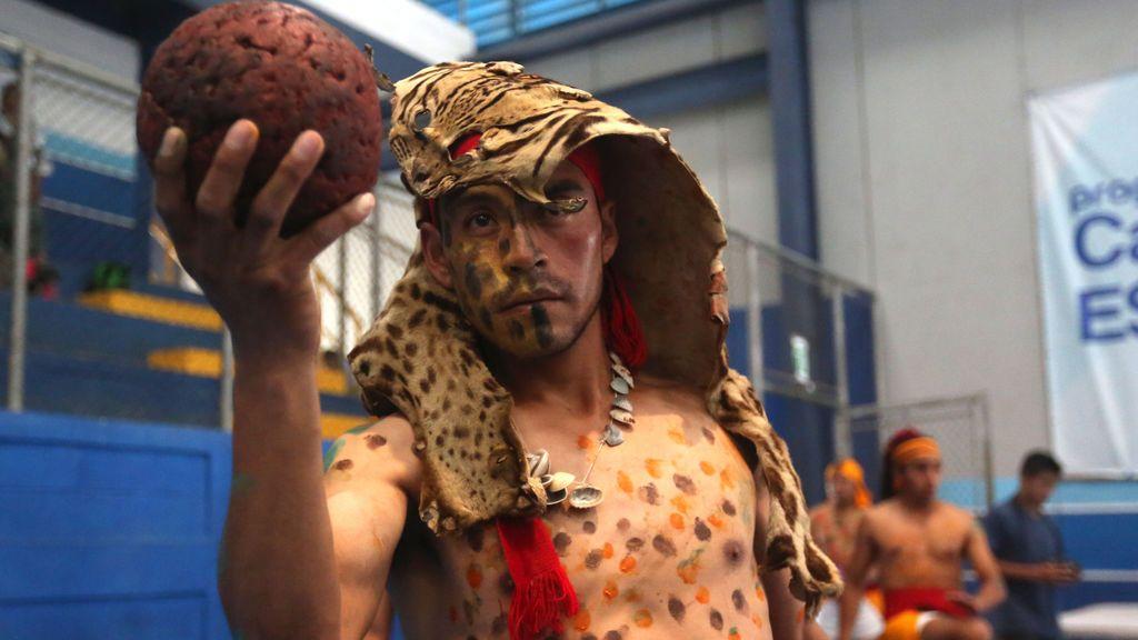 El juego de la pelota maya converge en Guatelama para unir Mesoamérica