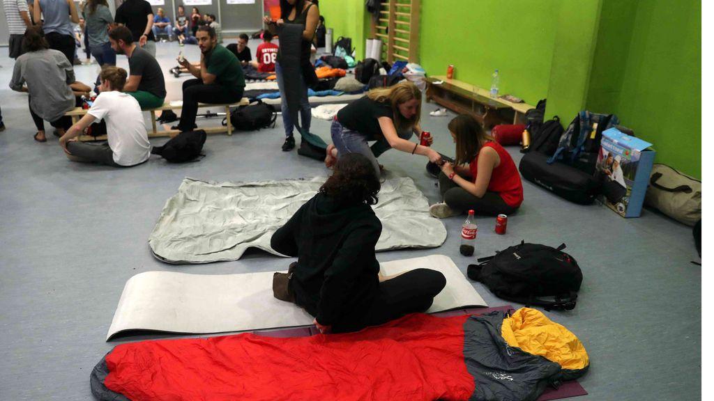 Actividades lúdicas acompañan a la jornada de ocupación de los colegios