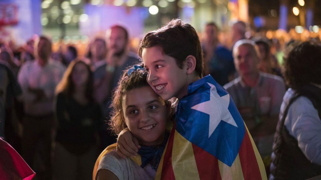 Calma tensa en Barcelona en vísperas del referéndum