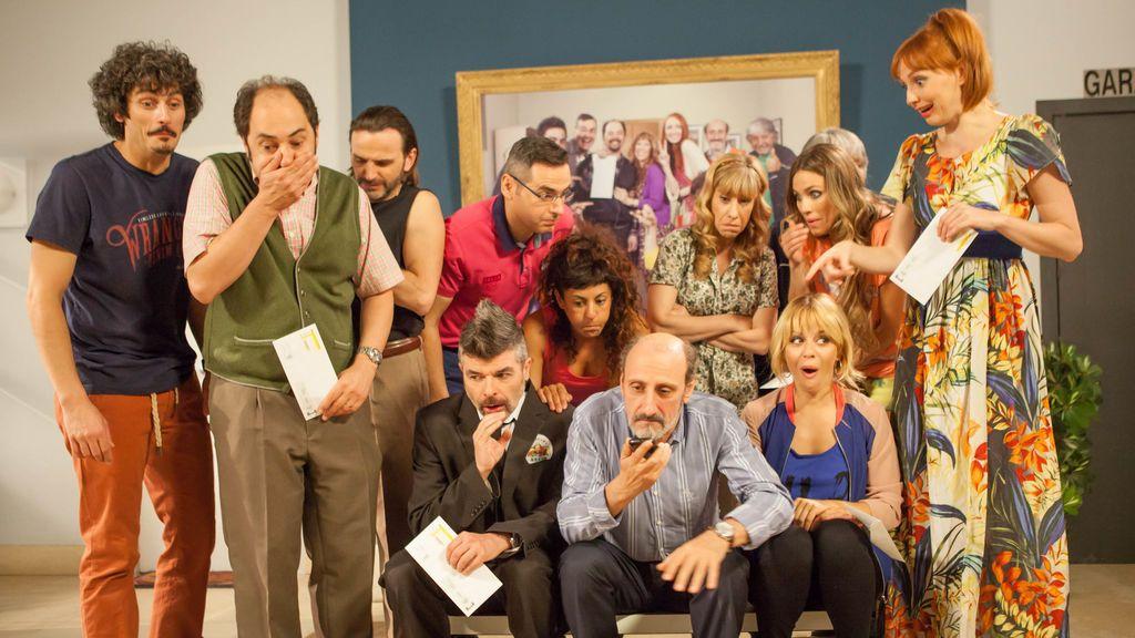 Los actores celebran la llegada de La Que Se Avecina. ¿Estáis nerviosos?