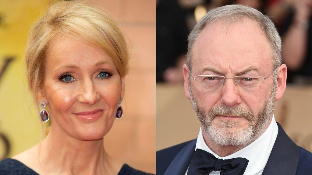 J. K. Rowling y Liam Cunningham critican la acción policial durante el 1-O