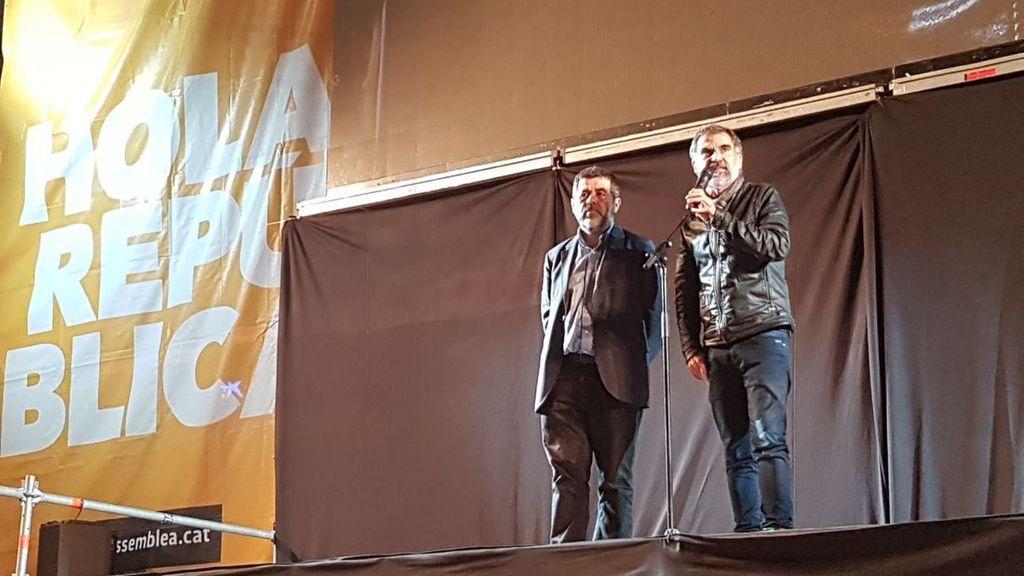 CC.OO., UGT y las entidades soberanistas convocan huelga general para este martes en Cataluña