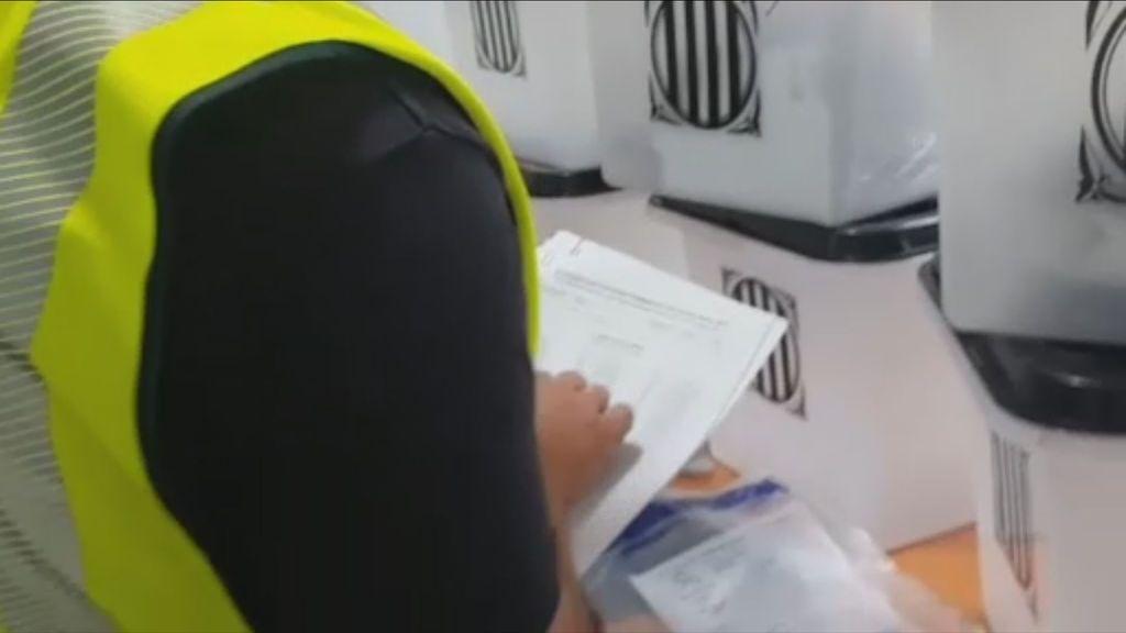 La Guardia Civil interviene material electoral