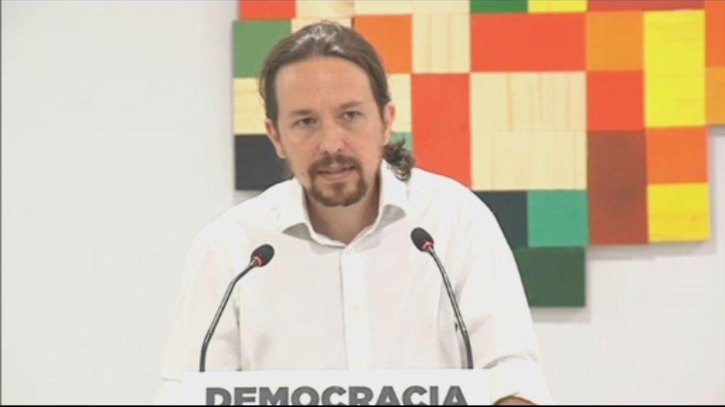 """Iglesias: """"El PP ha hecho un daño irreparable a Cataluña y a España"""""""