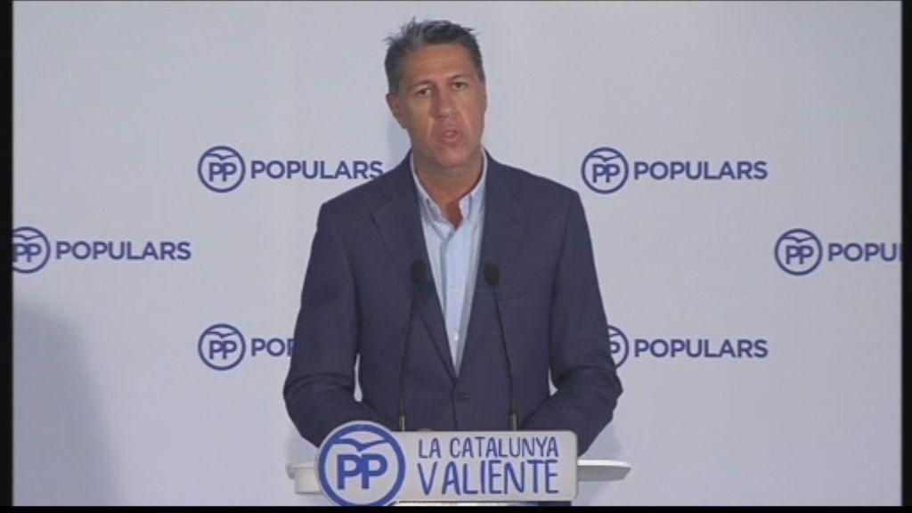"""Albiol: """"Esto está provocando la fractura de la sociedad catalana y de la española"""""""