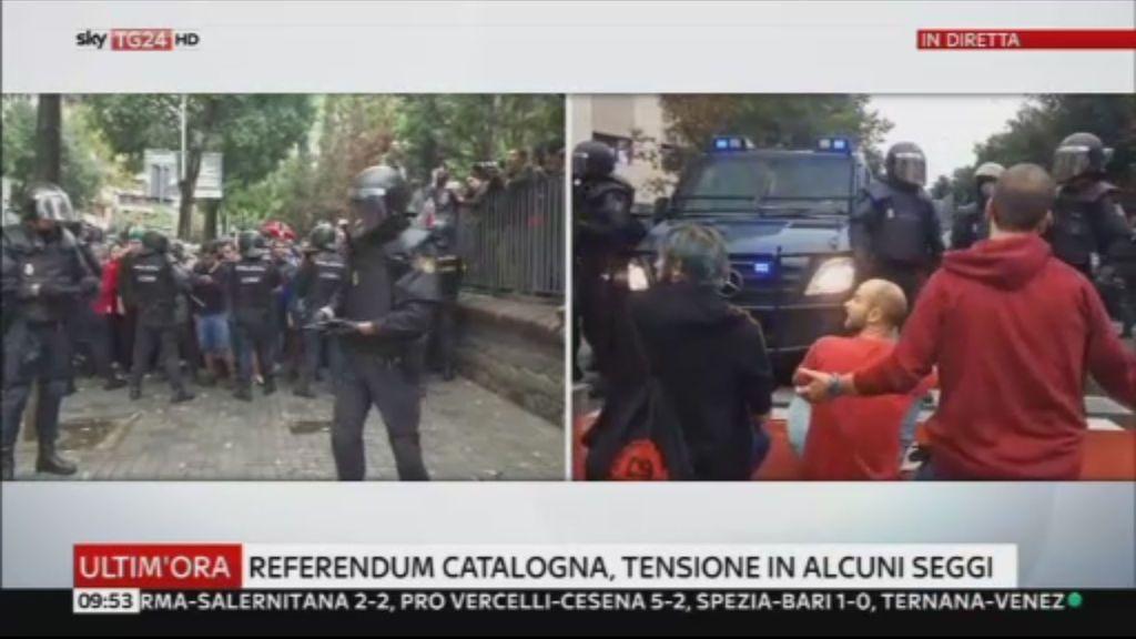 Los incidentes en Cataluña dan la vuelta al mundo