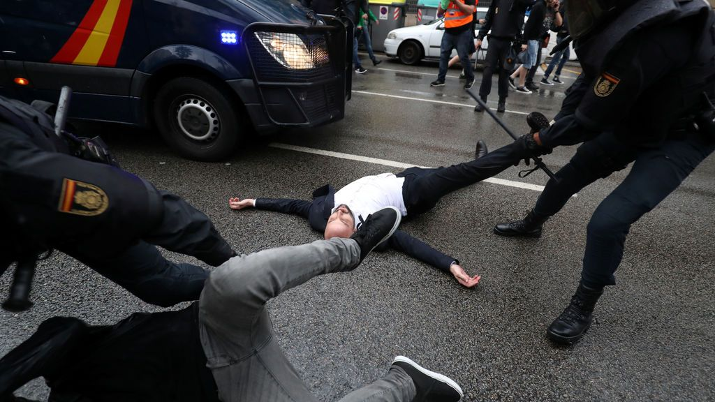 Referéndum 1-0:  La represión en las protestas en Sabadell