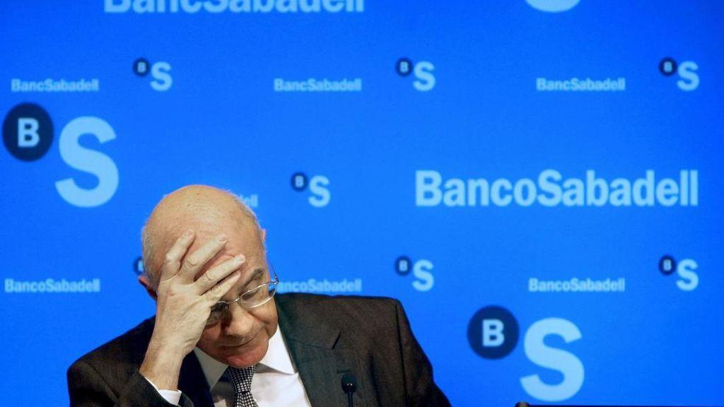 La banca catalana se desploma en Bolsa ante el desafío independentista