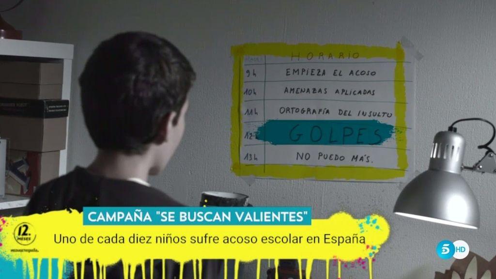 Uno de cada diez niños en España sufre acoso escolar