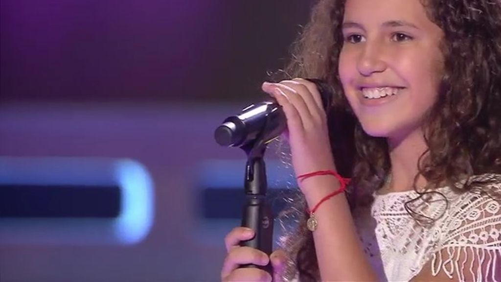 Las dudas de los 'coaches' de 'La voz kids' con Esperanza, una granadina de 11 años