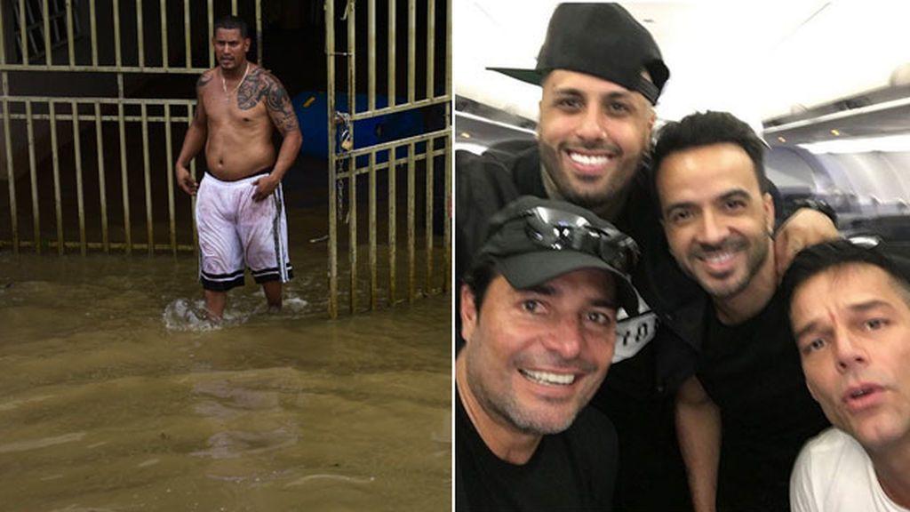 Ricky Martin, Chayanne, Fonsi y Nicky Jam, juntos por Puerto Rico: ya llegan con agua y alimentos