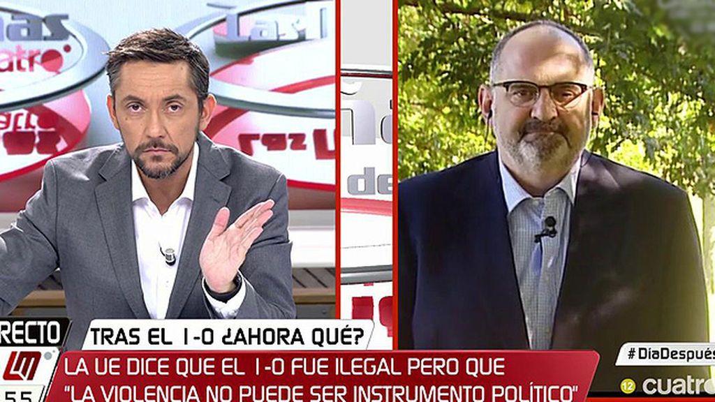 """Antón Losada: """"A una demanda política no se puede responder con palos"""""""
