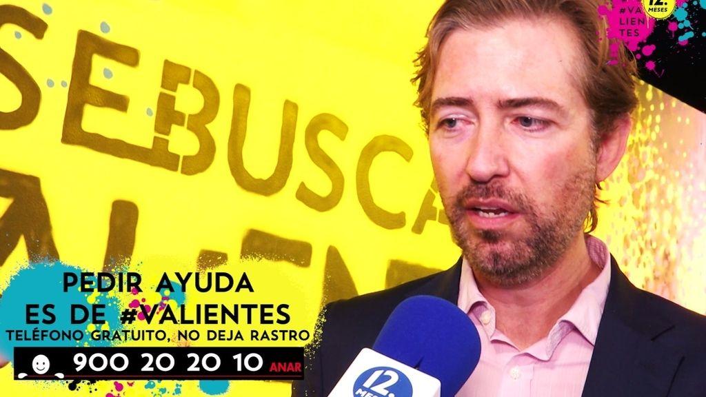 """Benjamín Ballesteros: """"Muchos de los niños agresores han sido acosados previamente"""""""