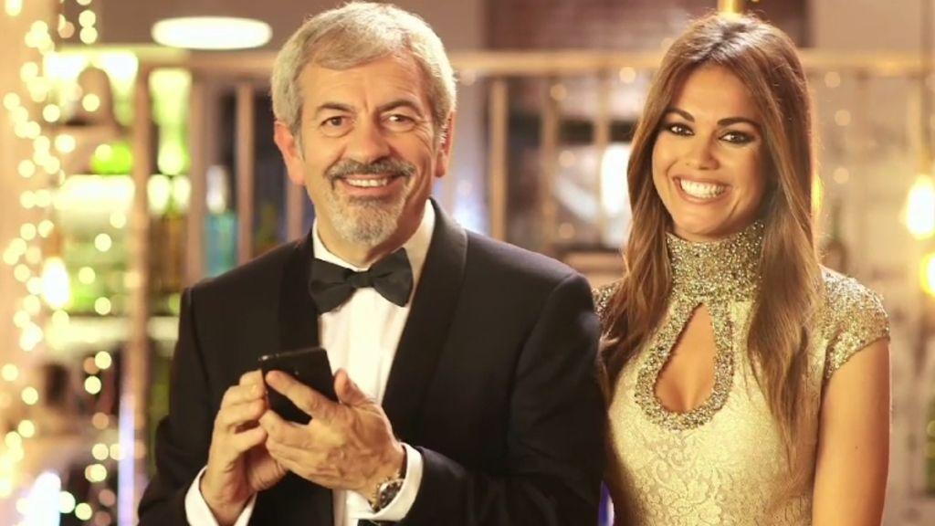 En nochevieja tienes una cita con los presentadores Carlos Sobera y Lara Álvarez