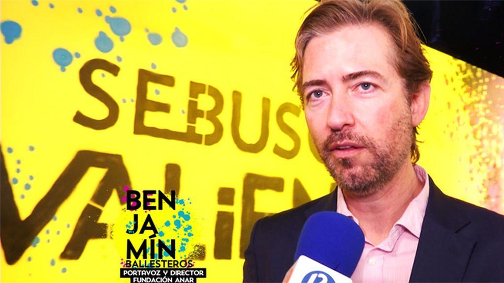 """Benjamín Ballesteros, director de ANAR: """"Sufrir acoso genera problemas psicológicos"""""""