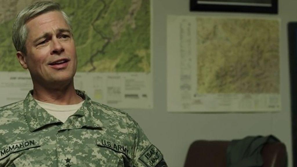 Brad Pitt, un disparatado líder militar de la OTAN tras el 11S en 'Máquina de guerra'