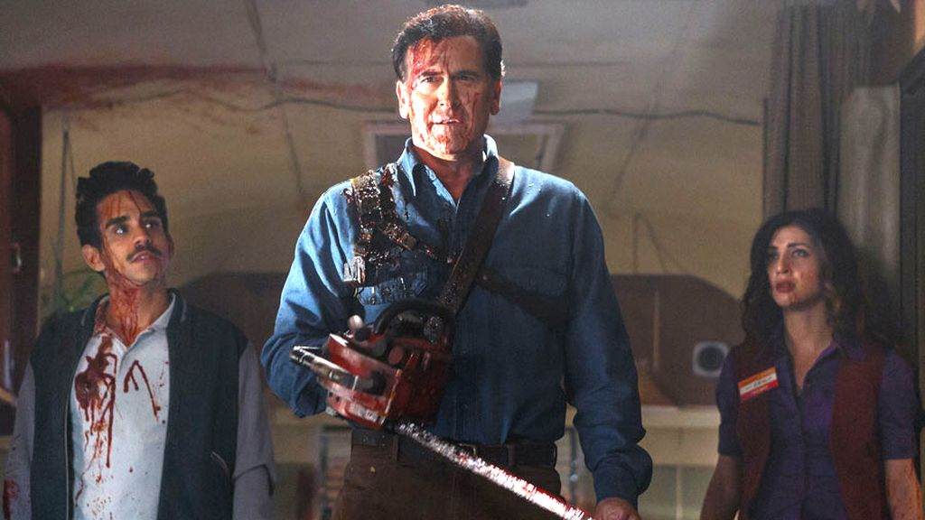 Bruce Campbell se enfrenta al mal con su sierra mecánica en 'Ash vs. Evil Dead'