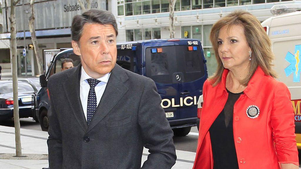 """Caso Lezo: La mujer del expresidente de Madrid Ignacio González dice que  """"nunca"""" manejó dinero negro"""