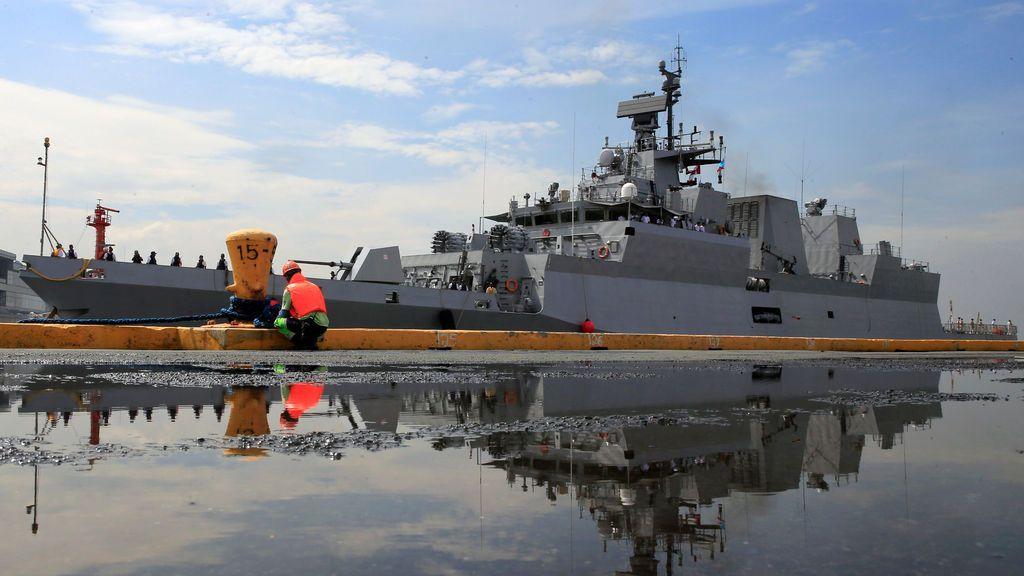 La Armada de la India llega a Filipinas para fortalecer los lazos de paz