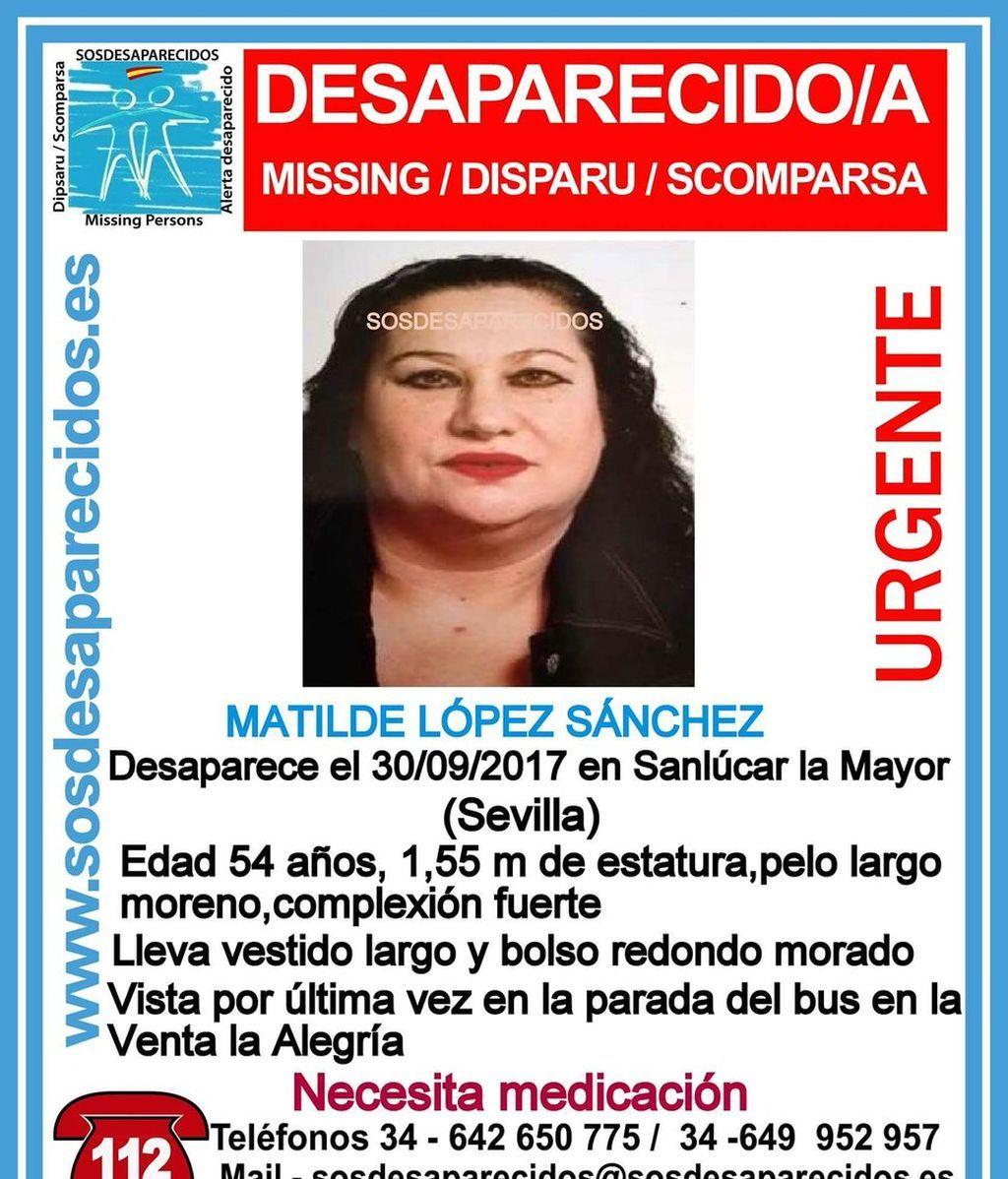 Desaparece una mujer de 54 años en Sanlúcar la Mayor (Sevilla)