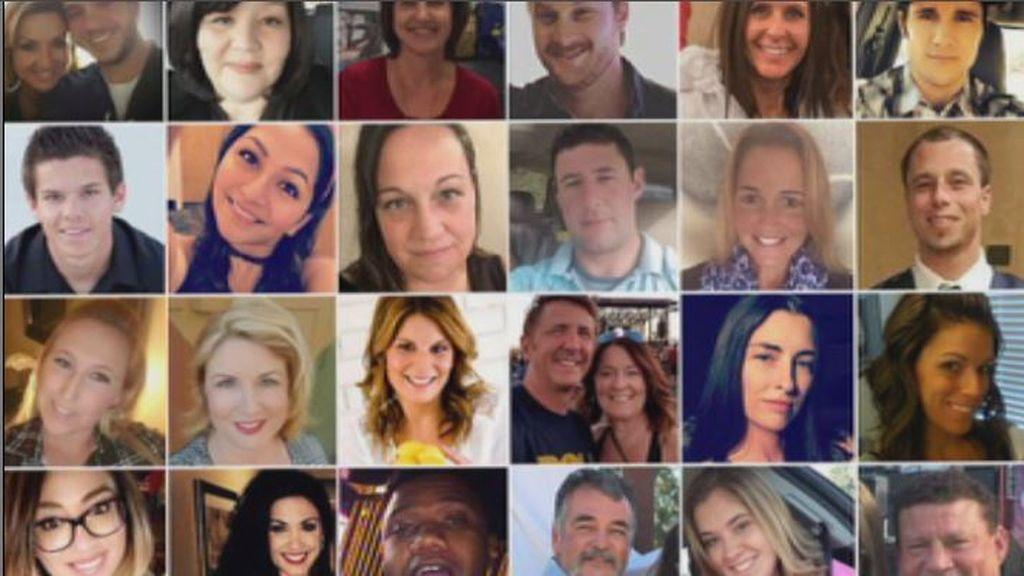 59 familias rotas por el tirador de las Vegas